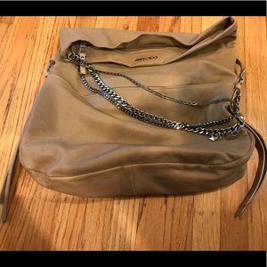💯% AUTH JIMMY CHOO HAND BAG